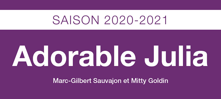 TRG Saison 2020-21 L'Adorable Julia